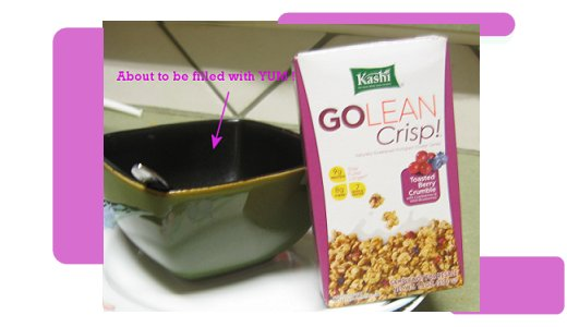 Kashi cereal, GOLEANCRISP review