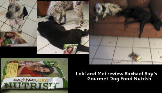 Loki and Mei Review Rachael Rays Nurtish Dog Food