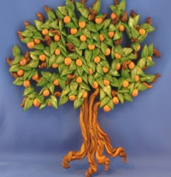Your famo;y and friends make up your Peach tree