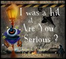 spooky blog award from Holly