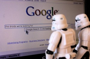 Stormtroppers googling where are the droids