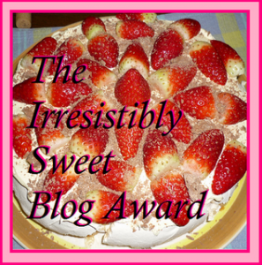 sweet blog award from Oil Field Trash of Make Daddy a Sammich