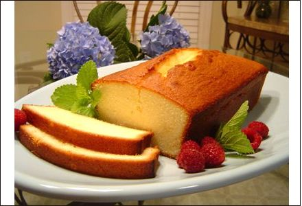 pound cake recipe, french pound cake, pound cake and fruit, sarah lee