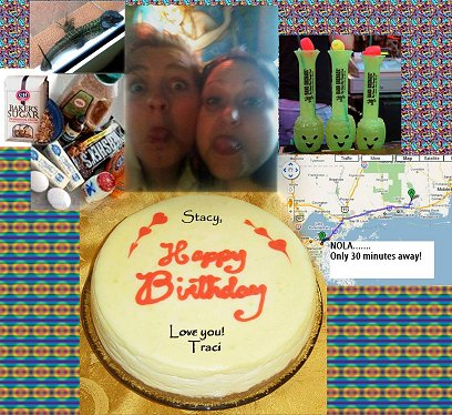my happy birthday collage from traci with new orleans and more