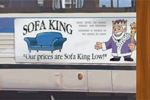 sofa king sign