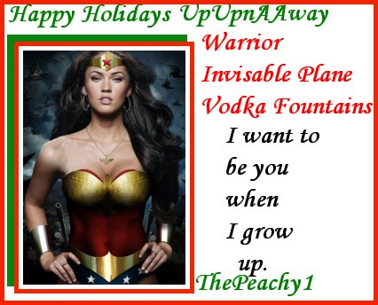 A Christmas Card for FlyAArmy at UpUpnAway from ThePeachy1