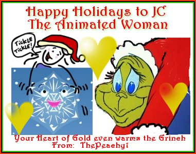 A Christmas Card to JC Little, the Animated Woman of Little Animation