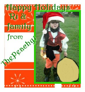 A Holiday Card for Ri at Music Savvy Mom