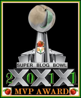 Super Blog Bowl MVP award