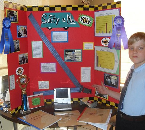 alexander the great, science fair winner, safety is no yolk