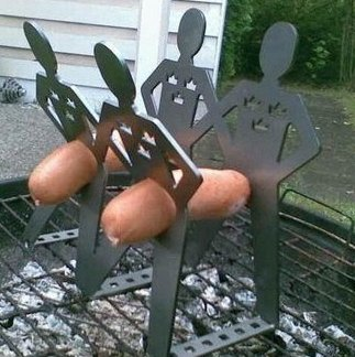 manipulated wiener cooker