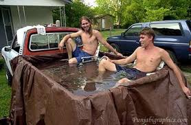 redneck pools how to cool down