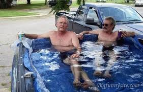 fancy redneck truckbed pool