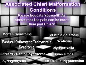 associate disorders and diseases to chiari