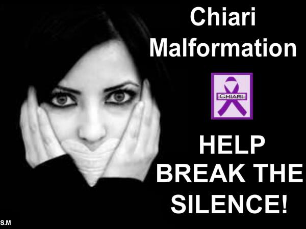 Chiari awareness Month  stop the silence