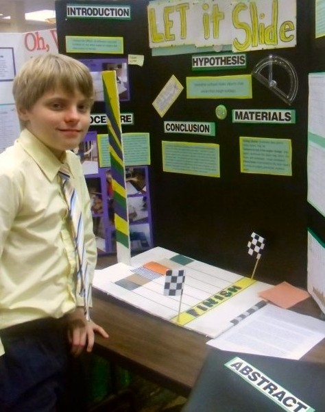 Let it slide Science Fair Project